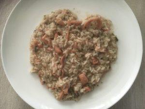 Jednostavne lignje rižoto